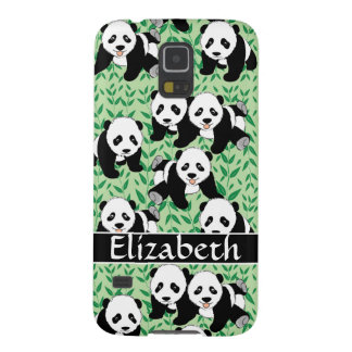 Panda Bears Graphic Personalize Case For Galaxy S5