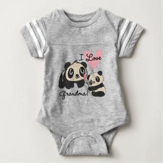 Panda Bears I Love Grandma T-shirt