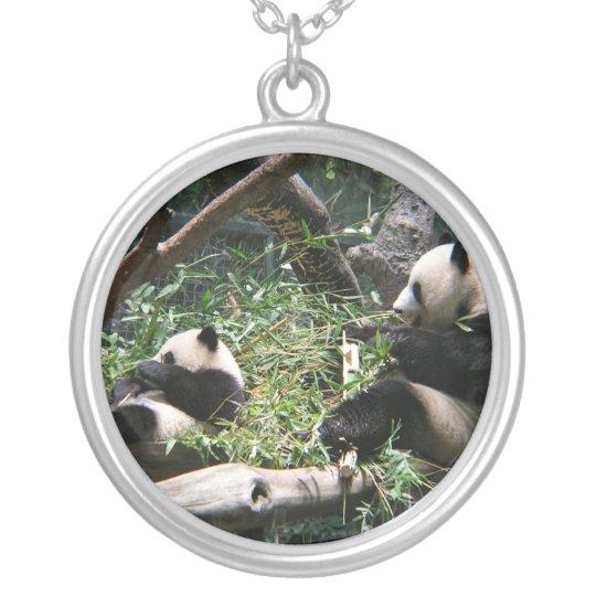 Panda Bears Necklace