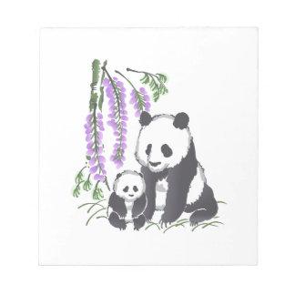 Panda Bears Memo Note Pad