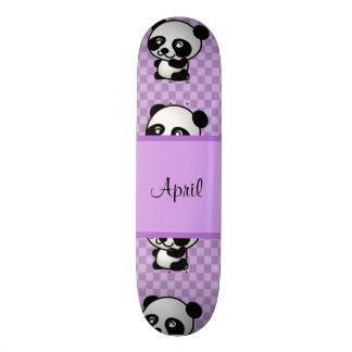 Panda Bears Skateboard