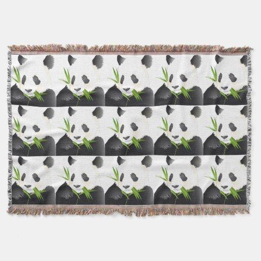 Zazzle Panda Bears Throw Blanket