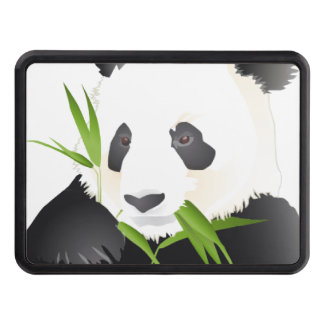 Panda Bears Tow Hitch Cover