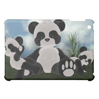 Panda Bearz Sunny Day  Case For The iPad Mini
