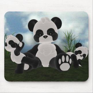 Panda Bearz Sunny Day Mousepad