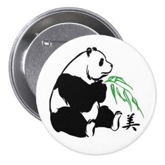 Panda Beauty Pinback Button