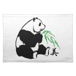 Panda Beauty Placemat