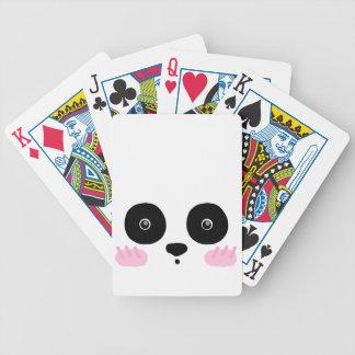 Panda! Bicycle Playing Cards