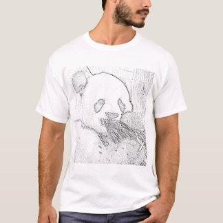 Panda (black) T-Shirt