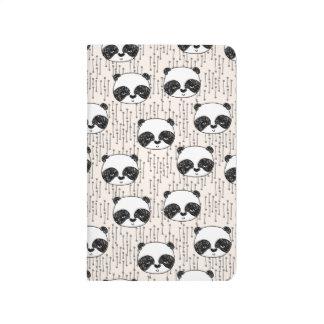 Panda - blanco negro de Champán/Andrea Lauren Cuaderno