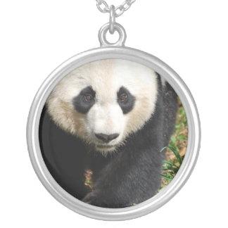 Panda blanco y negro colgante personalizado