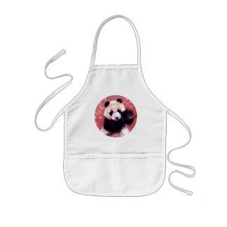 Panda Blossom Kids' Apron