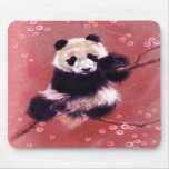 Panda Blossom Mouse Pads