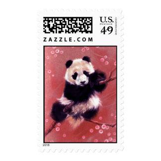 Panda Blossom Postage