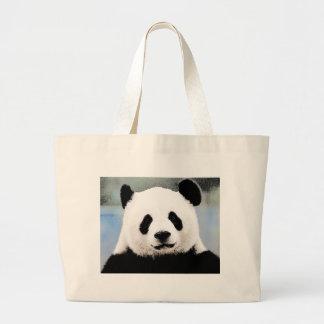 Panda Bolsa De Tela Grande