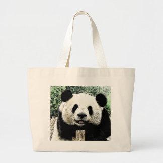 Panda Bolsa Tela Grande