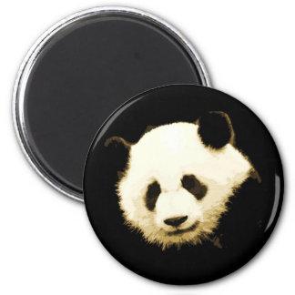 Panda bonita imán redondo 5 cm