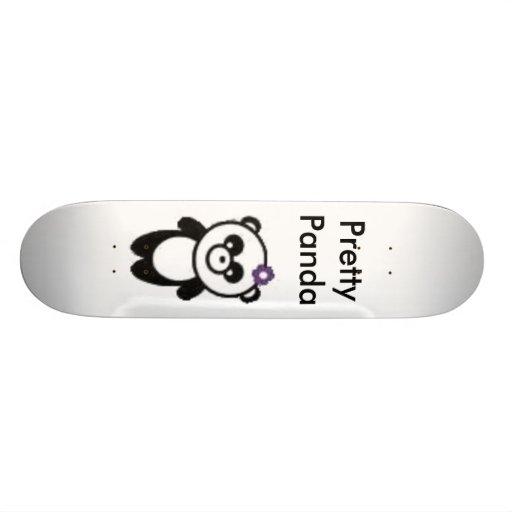 Panda bonita patín personalizado