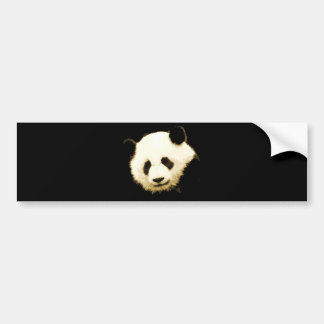 Panda bonita pegatina para auto