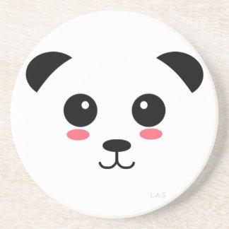 Panda bonita posavasos personalizados