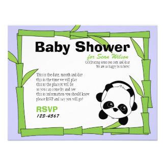 Panda-Boo Personalized Invite