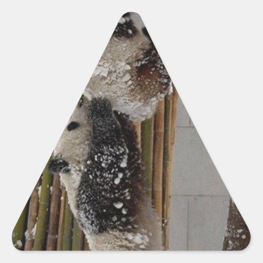 Panda Boost Triangle Sticker