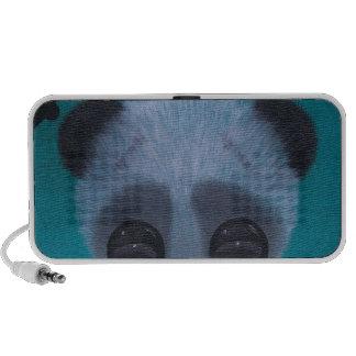 Panda borrosa de la burbuja mp3 altavoces
