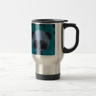 Panda borrosa de la burbuja taza