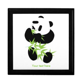 Panda box keepsake box