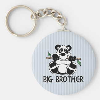 Panda Boy Big Brother Keychain