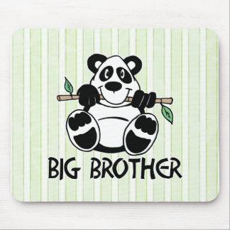 Panda Boy Big Brother Mouse Pad