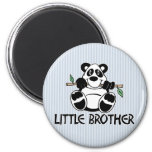 Panda Boy Little Brother Fridge Magnets