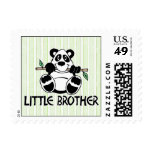 Panda Boy Little Brother Postage Stamp