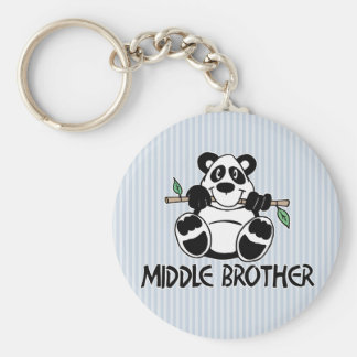 Panda Boy Middle Brother Key Chain