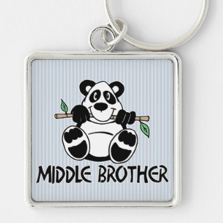 Panda Boy Middle Brother Key Chains