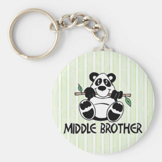 Panda Boy Middle Brother Keychains