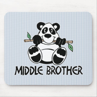 Panda Boy Middle Brother Mouse Pad
