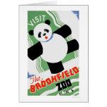 Panda Brookfield Zoo 1938 WPA Card