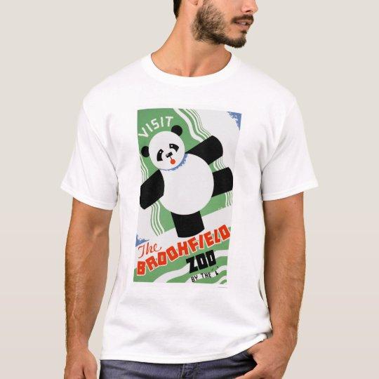 Panda Brookfield Zoo 1938 WPA T-Shirt