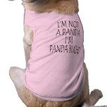 PANDA BUCHO DOG WEAR TEE