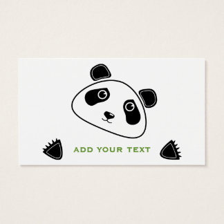 Panda Business Card