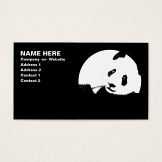 panda. business card