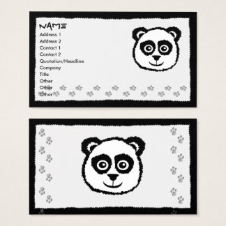 Panda Business Cards
