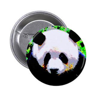Panda Pinback Button