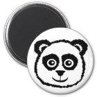 Panda Buttons Magnet