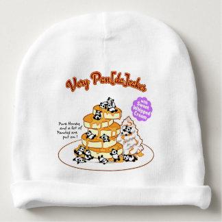 < Panda cake >  Pandas ON pancakes Baby Beanie