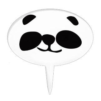 Panda cake pick