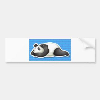 Panda Etiqueta De Parachoque