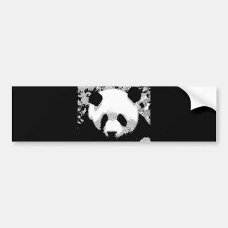 Panda Pegatina De Parachoque