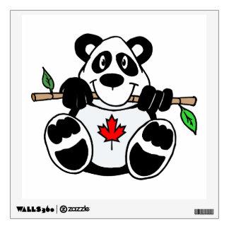 Panda canadiense vinilo adhesivo